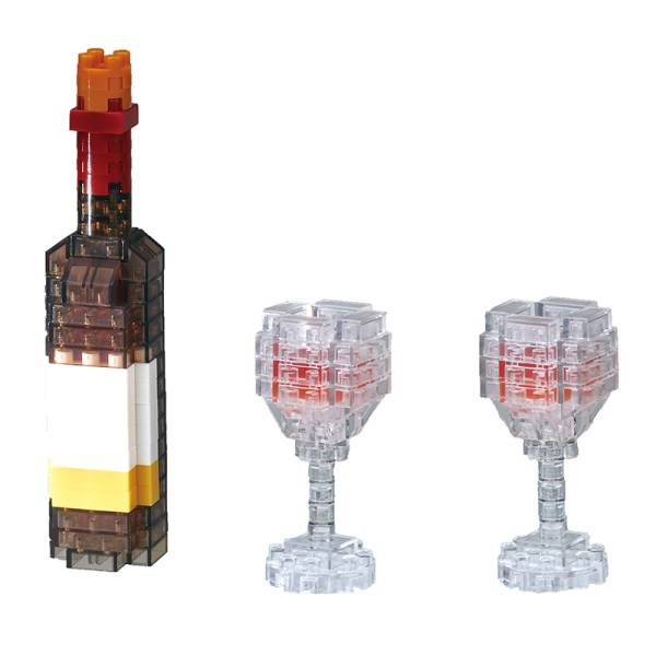 Mini NANOBLOCK Wine