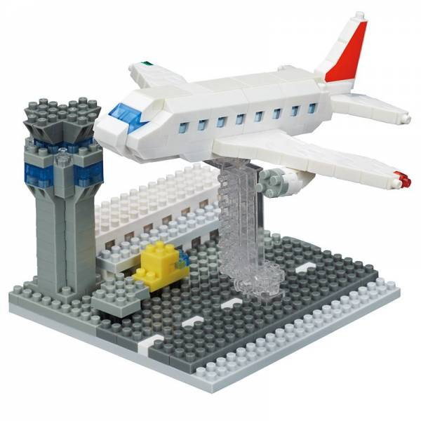 Sights NANOBLOCK Airport