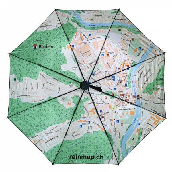Regenschirm RAINMAP BADEN
