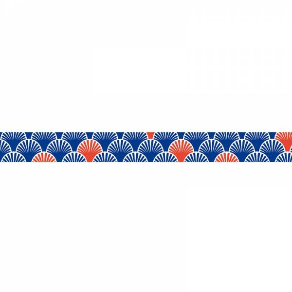 Masking tape MASTÉ MULTI Navy Seigaiha 15 mm