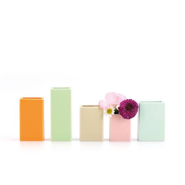 Mini-Vasen, 5er-Set