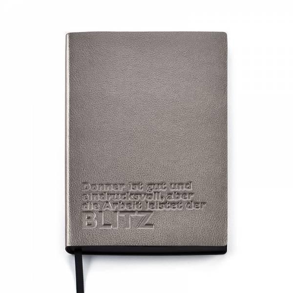 Notizbuch ZITAT Blitz