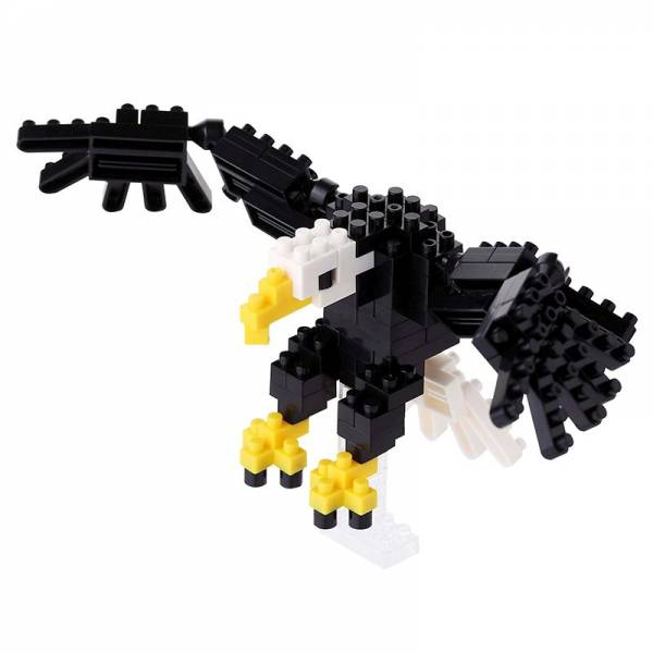 Mini NANOBLOCK Bald Eagle IM FEBRUAR AN LAGER