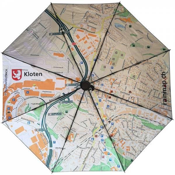 Regenschirm RAINMAP KLOTEN