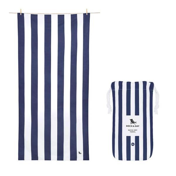 Towel CABANA XL navy