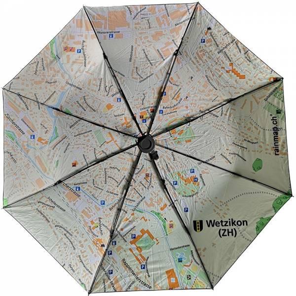 Regenschirm RAINMAP WETZIKON