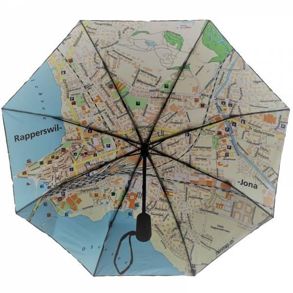 Regenschirm RAINMAP RAPPERSWIL-JONA