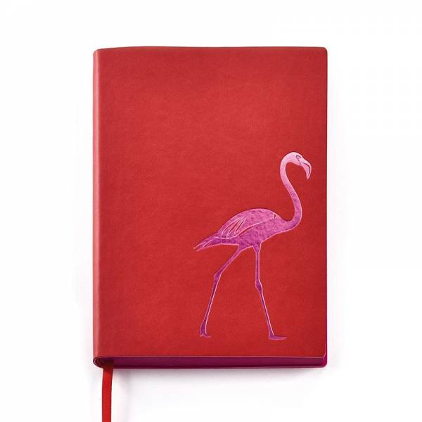 Notizbuch DESIGN Flamingo