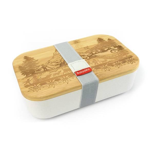Lunchbox SWISS TRADITION beige