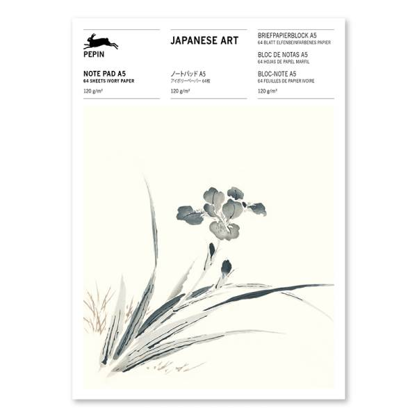 A5 Note Pad JAPANESE ART