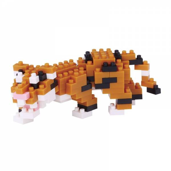 Mini NANOBLOCK Bengal Tiger