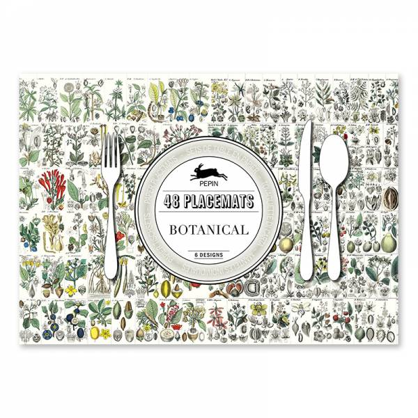 Paper Placemats BOTANICAL