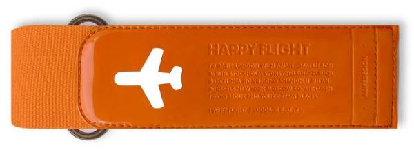 HAPPY FLIGHT LUGGAGE BELT orange