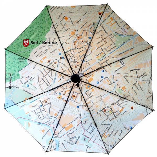 Regenschirm RAINMAP BIEL