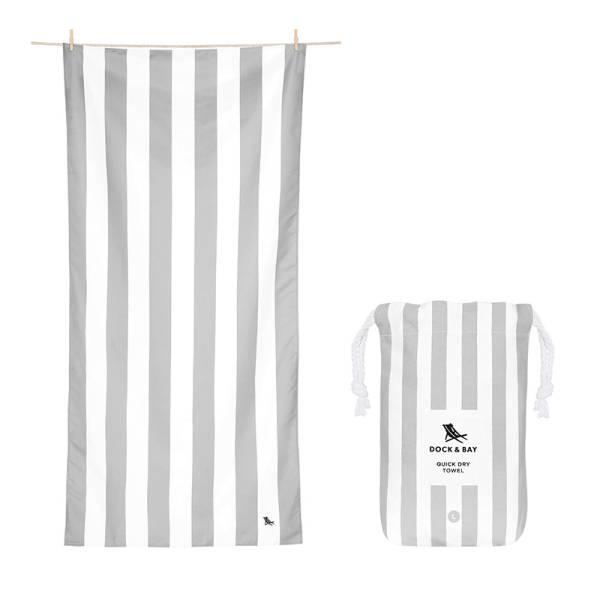 Towel CABANA Light L grey