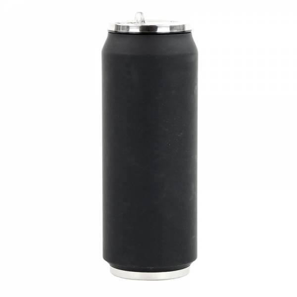 Trinkflasche CAN SOFT schwarz 500 ml