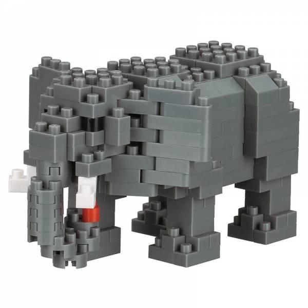 Mini NANOBLOCK African Elephant