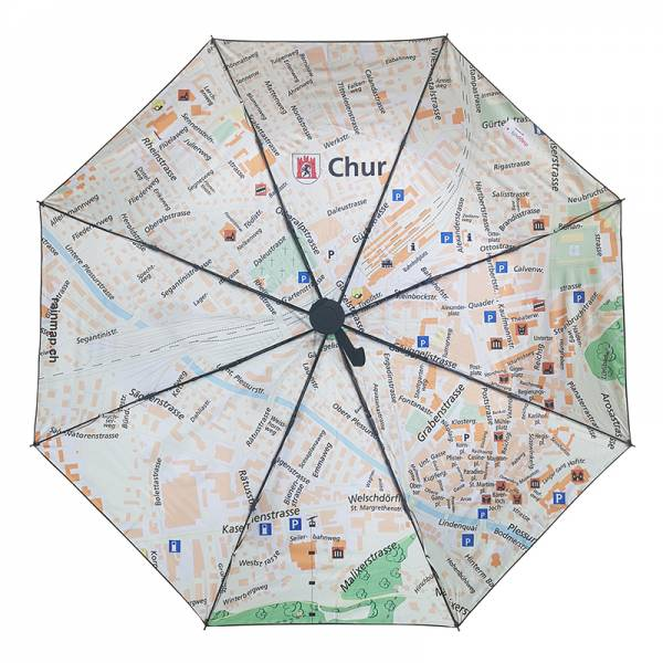 Regenschirm RAINMAP CHUR