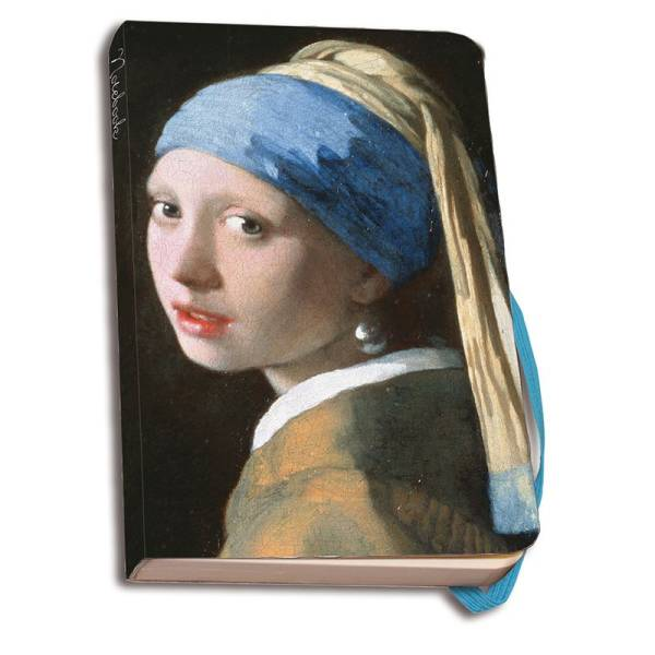VERMEER Girl Notebook A6