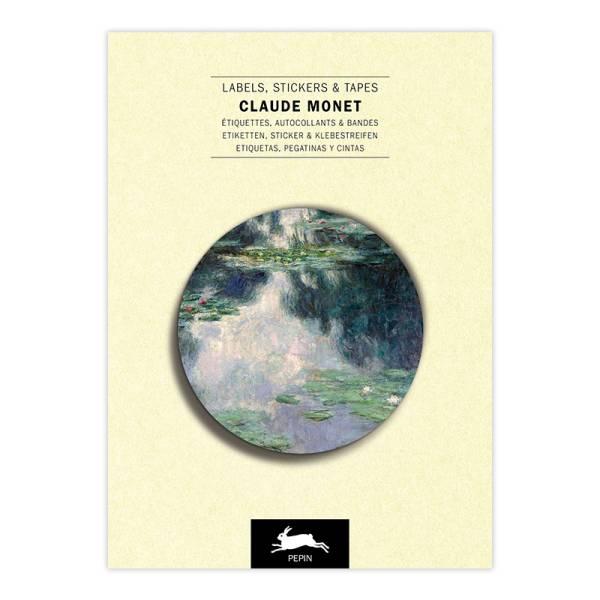 Label & Sticker Book CLAUDE MONET