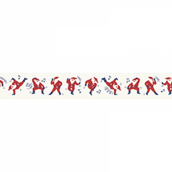 Masking tape MASTÉ MULTI Dancing Santa Claus, 20 mm