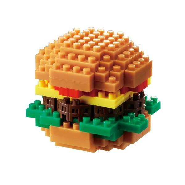 Mini NANOBLOCK Hamburger