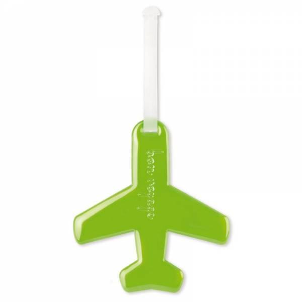 HF LUGGAGE DOLL AIRPLANE grün