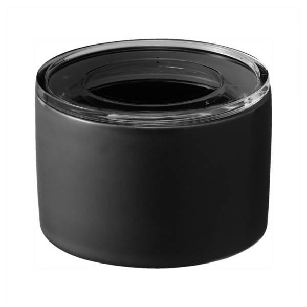 Keramikdose S TOWER schwarz