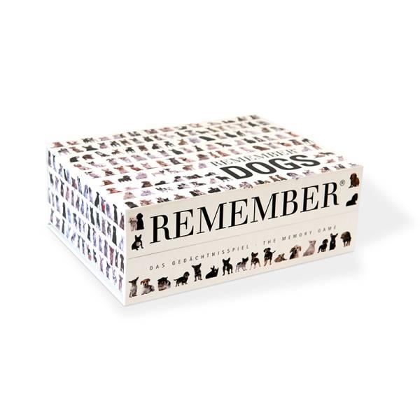 Gedächtnisspiel 44 Dogs in der Magnetbox