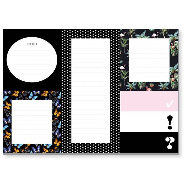 STICKY NOTES schwarz