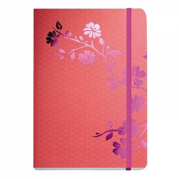 Notizbuch A5 Metallic BLOSSOM pink