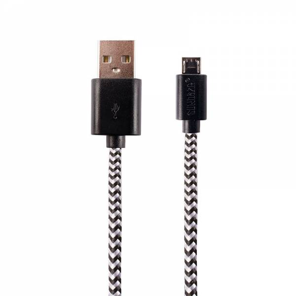 CHARGING CABLE MICRO USB black
