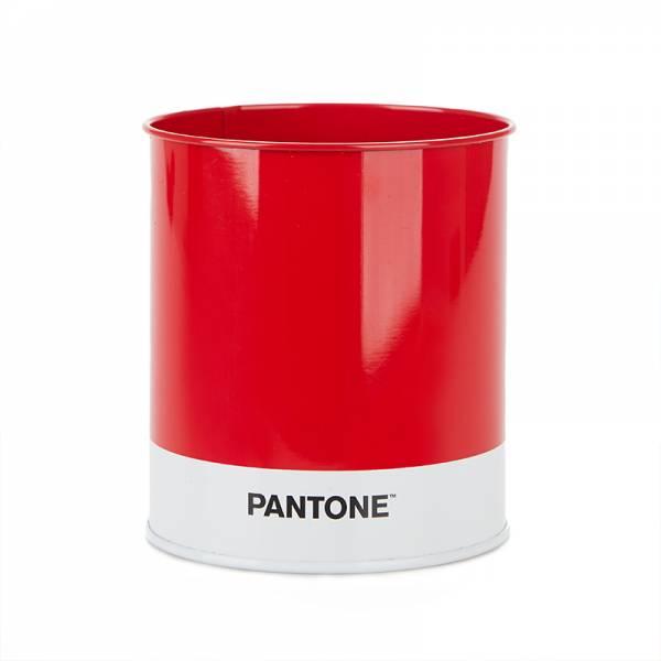 Stiftehalter PANTONE rot aus Blech