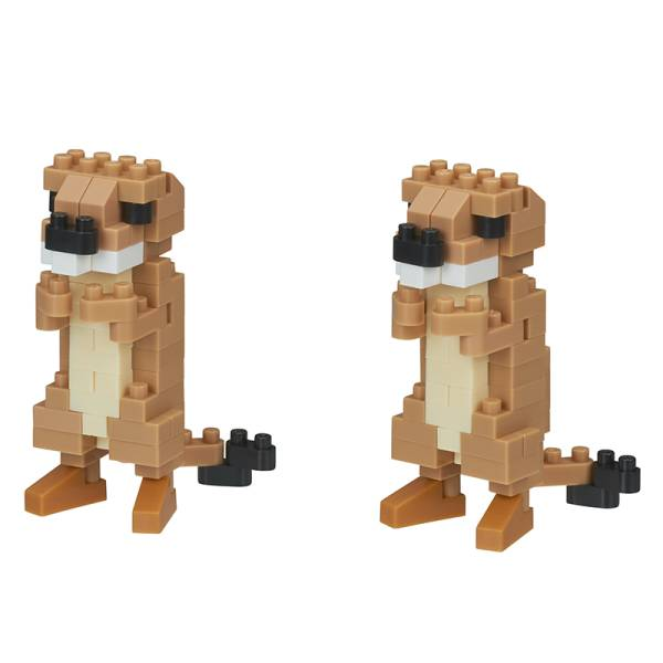 Mini NANOBLOCK Prairie Dogs