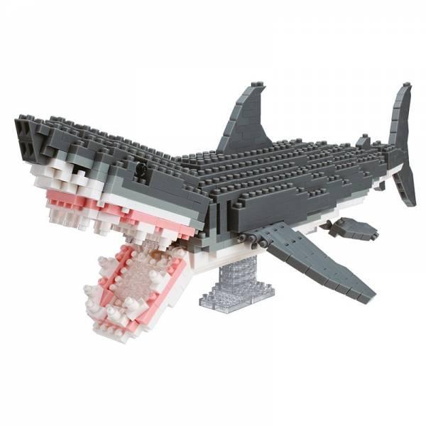 Animal Deluxe NANOBLOCK Great White Shark