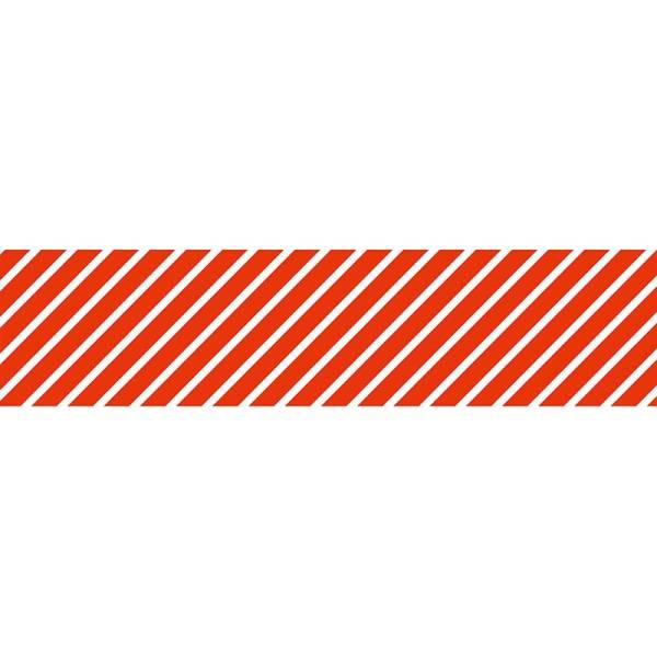 Masking tape MASTÉ BASIC Red/Stripe 15 mm