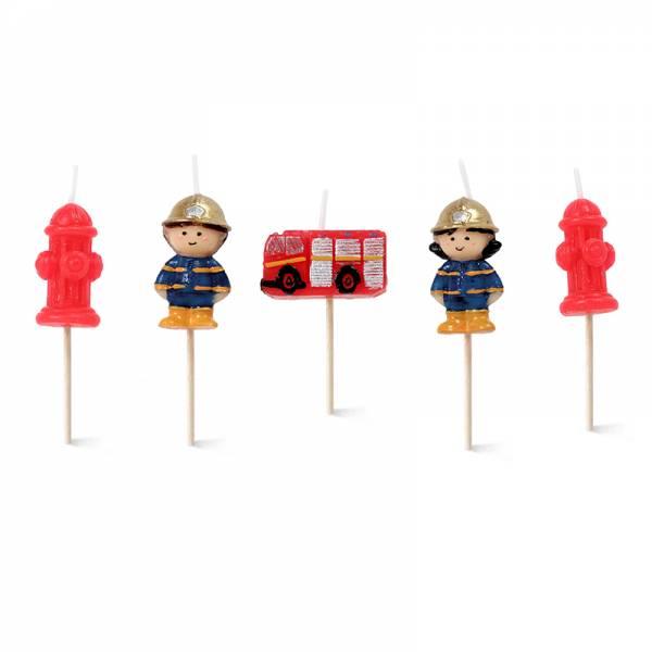 Kerzen-Set FIREFIGHTERS