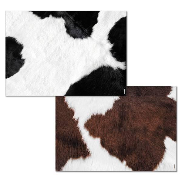Papiertischset MOOH Mehrfachblock - 2 Sujets à 25 Blatt