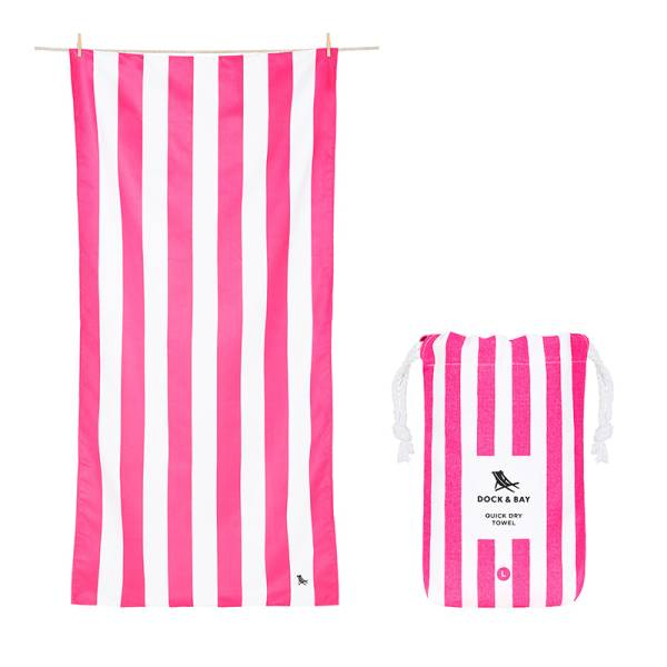 Towel CABANA L pink