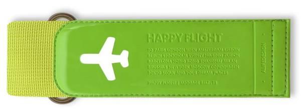HAPPY FLIGHT LUGGAGE BELT grün