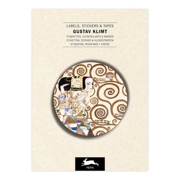 Label & Sticker Book GUSTAV KLIMT