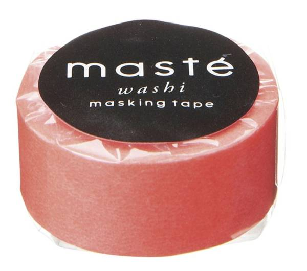 Masking tape MASTÉ BASIC red