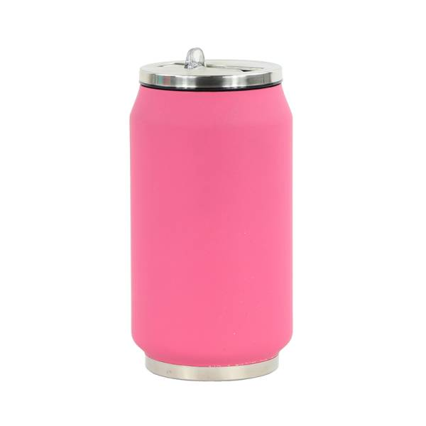 Trinkflasche CAN SOFT pink 280 ml