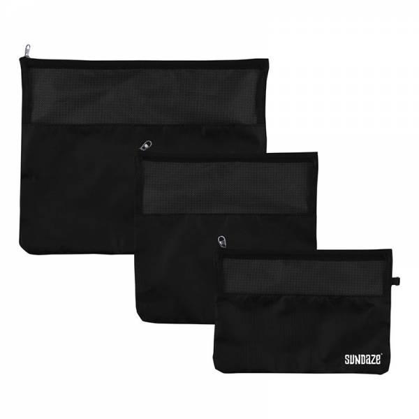 TRAVEL ORGANIZE SET 3pcs black