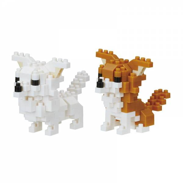 Mini NANOBLOCK Dog breed chihuahua