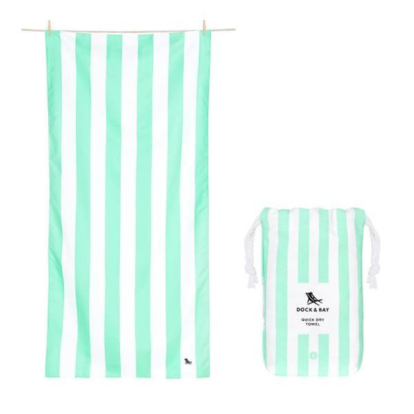 Towel CABANA Light L green