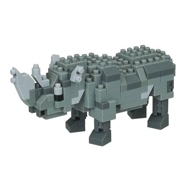 Mini NANOBLOCK Rhinoceros