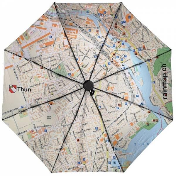 Regenschirm RAINMAP THUN