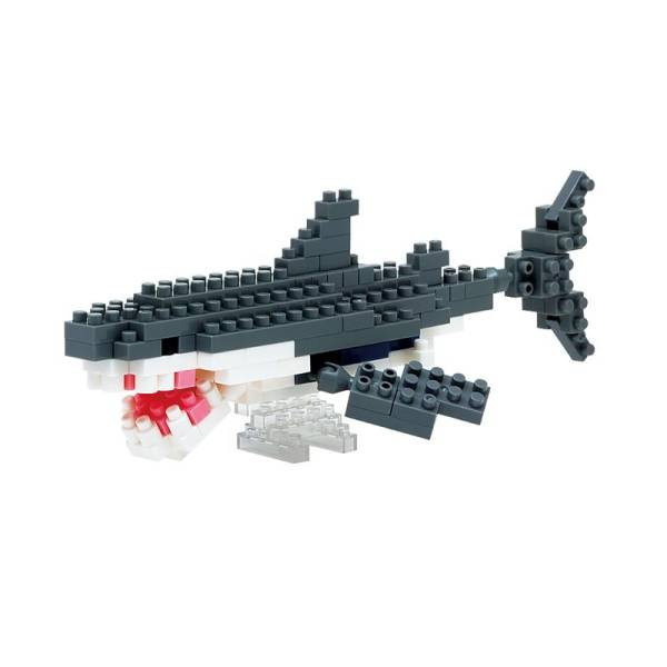 Mini NANOBLOCK Great White Shark