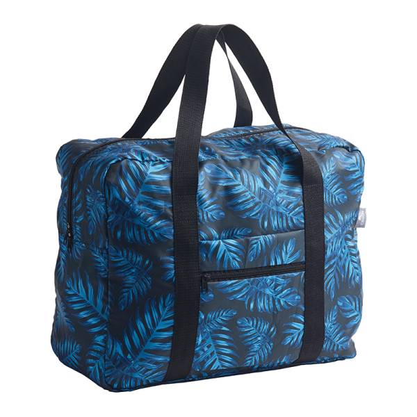 Travel Bag PHILODENDRON blue